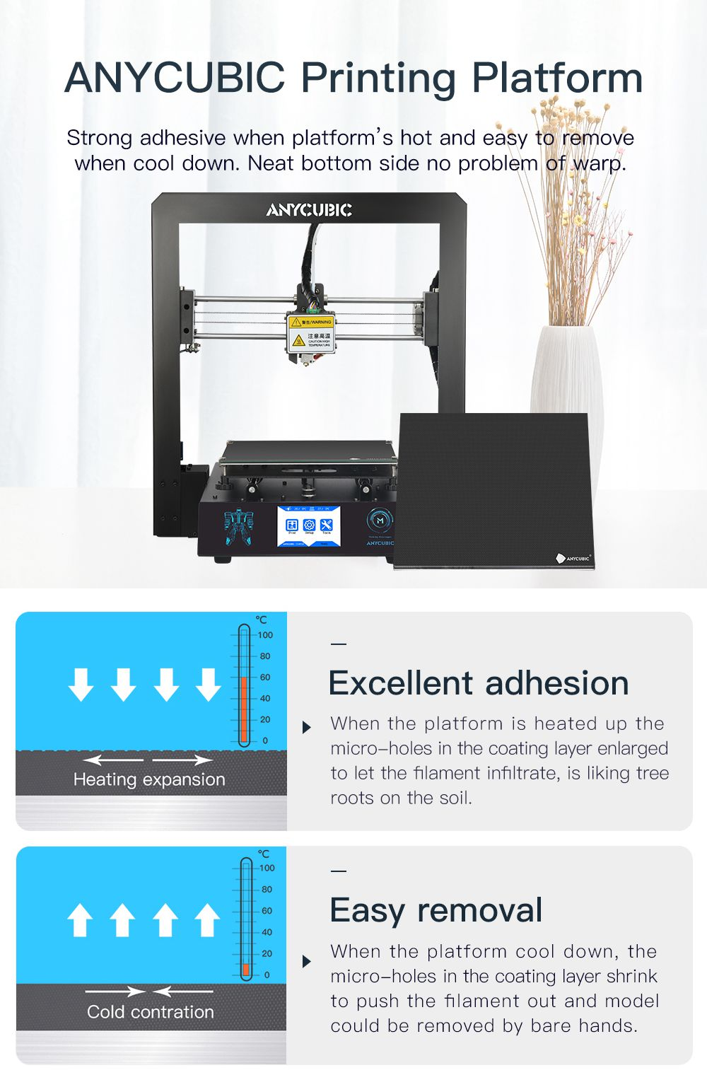 US $175 68 52% OFF|ANYCUBIC I3 Mega Cheap 3D Printer Full Metal Newest  Frame 3 5