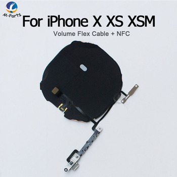 Original Quality NFC With Flex Cable For iPhone X XS XR XSM Max 11 Pro Max 11Pro Wireless Charging Charge Coil