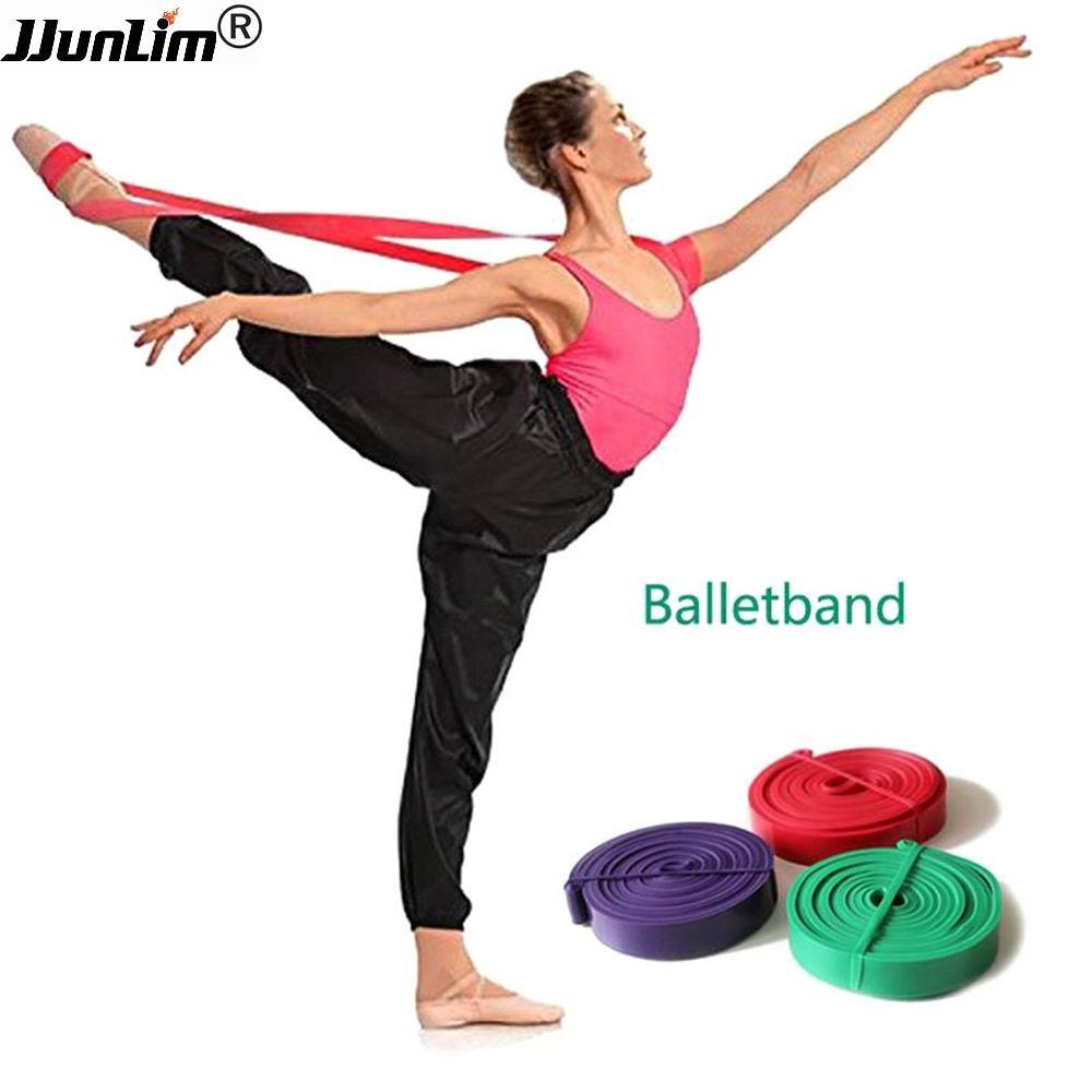 Latexový balet Stretch Band pro absolutní flexibilitu Taneční a gymnastika Trénink balení nohou Baletní měkké otevírací pásky