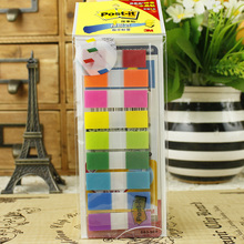LifeMaster 3M Post It Sticky Note 683-9CF (9 Colors*10pcs) Self Adhesive Memo Pad School & Office Supplies