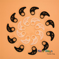 4pcs/2pairs Universal Silicone Earphone Clip Hook Earhook Headphone Ear hook hanger for Silicone bracket horn sports earhooks