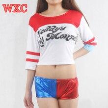 Batman Harley Quinn Daddy's Lil Shirt S-xxl Costume Cosplay Tops Tee WXC