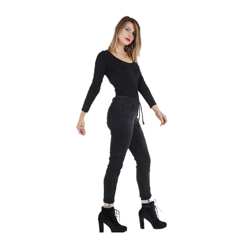 My Will Jeans Women's Fashion Casual Jeans 558-1 Made In China