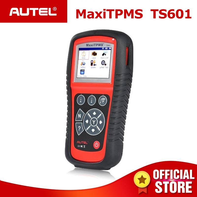 MaxiTPMS AUTEL TPMS TS601 OBD2 Ativador Do Scanner Automotivo ferramenta de Diagnóstico Do Carro Leitor de Código de ferramentas de reparação de Pneus Sensor de programação