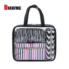 PVC Large Capacity Travel Cosmetic Bag women Suitcase Traval Bags Female Waterproof Pvc Transparent Make-up Toiletry Storage