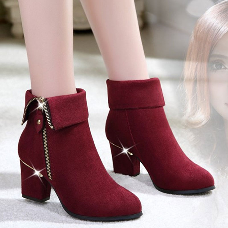 Aliexpress.com : Buy New 2015 Fashion Female Ankle Boots Women ...