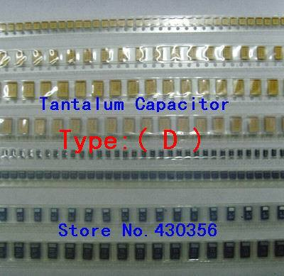 10PCS  Tantalum Capacitor  7343  Type:D   226  22UF  35V