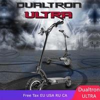 Dualtron ULTRA-V2 электрический скутер 60 в 2700 Вт Двойной Мотор скутер высокая скорость внедорожный MACURY Dualtron