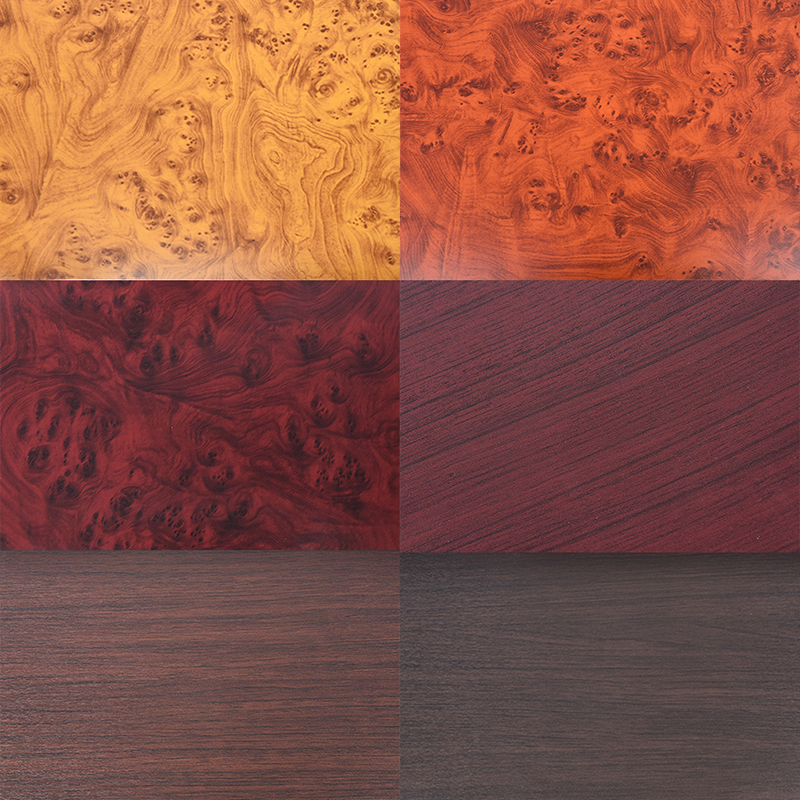 2 Sizes PVC Wood Grain Car Stickers Auto Interior Decoration Furniture Door Vinyl Film Car-Styling