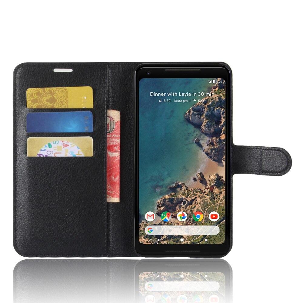 KSQ For Google Pixel 2 XL Phone Cases Fundas Luxury Flip PU...