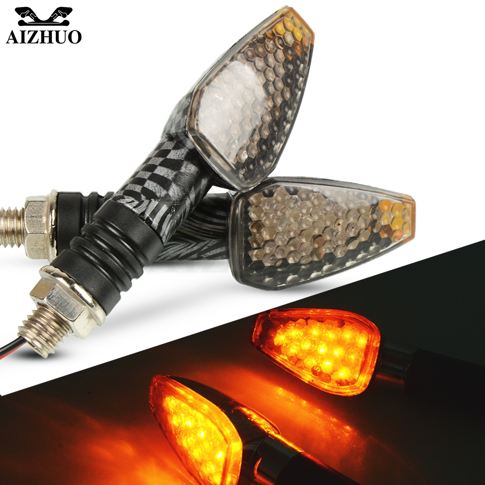 Universal Motorcycle Turn Signal Light 12V LED Indicators Blinker Lamp For YAMAHA TRACER 700 TRACER 900 HONDA CB1000R FORZA 125