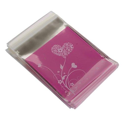 Bolso de embrague UESH-100pcs Bolso HEART púrpura del regalo de - Para fiestas y celebraciones - foto 4