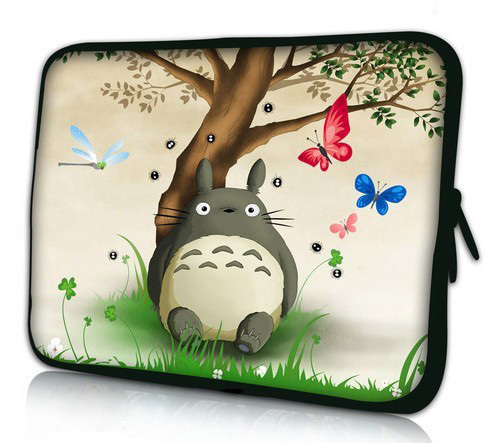 """15"""" Cute Totoro Laptop Soft Sleeve Bag Case Cover Pouch For 15.6"""" HP Pavilion G6 DV6 Toshiba for"""