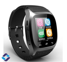 Wasserdichte Smartwatch Mit LED Alitmeter Musik-player sport Bluetooth Smart Watch phone digital smartwatch für android xiaomi