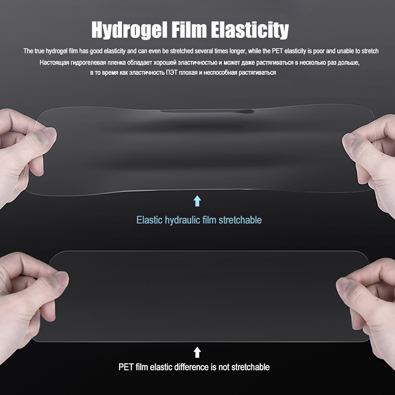 Image 3 - Hydrogel Film For OnePLus 6T 7 Pro Full Cover Soft Screen Protector Film For OnePlus 7T 5 6 T One plus 6 5T Transparent no Glass-in Phone Screen Protectors from Cellphones & Telecommunications