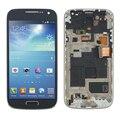 Синий Для Samsung Galaxy S4 Mini i9195 i9190 ЖК-Дисплей с Сенсорным Экраном Дигитайзер + Рамка шатона + Инструменты, бесплатная Доставка