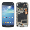 Blue For Samsung Galaxy S4 Mini i9195 i9190 LCD Display with Touch Screen Digitizer + Bezel Frame + Tools , Free Shipping