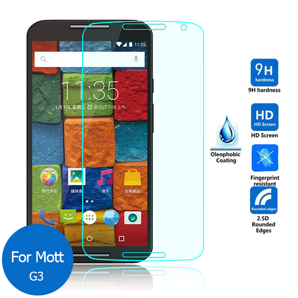 Tempered Glass For Motorola Moto G3 G 3rd Gen G3 2015 Dual XT1548 Screen Protector 9H Toughened Protective Film For Moto G3