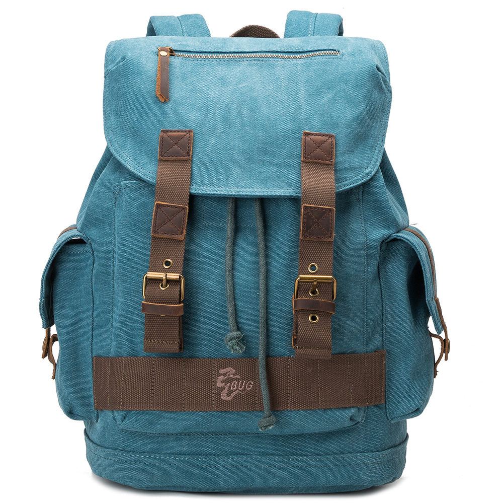 Backpack Vintage Canvas Backpack School Bag  Travel Bags GET0034