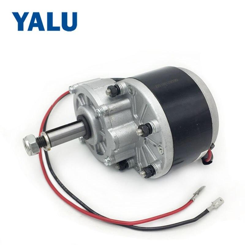 250 Watt 12v24 V36v Getriebe Motor Pinsel Elektrische Dreirad Dc Getriebe Gebürstet Motor Elektrische Fahrrad My1016z2 Niedriger Geschwindigkeit Motor Heimwerker