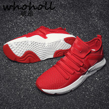 Men Fashion Shoes Winter Brand Casual Breathable High Top Shoes Lace Up Flat Red Wedge Rubber Sole Leather Vulcanized Shoes 2018 недорого
