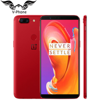 Global firmware Oneplus 5T 8GB RAM 128GB ROM Mobile Phone Snapdragon 835 Octa Core 6.01 Fingerprint Android 4G NFC Smartphone