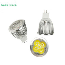 high power LED Spot light 9W 12W 15W MR16 GU10 E14 GU5.3 lamp Warm White cold white 220v 110V 12V bulb Spotlight Free Shipping(China)