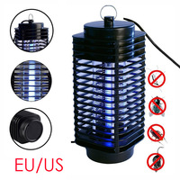 LED Electric Mosquito Killer Moth Killing Insect US EU 220V Zapper Fly Lamp Trap Wasp Pest