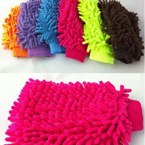 Hot Selling Super Mitt Microfiber Wash Washing Car Cleaning Glove 1 Pcs Table Kitchen Cleaning Cloth #03