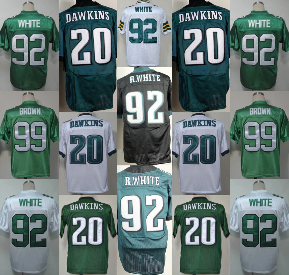 the latest 35cfb 6e96d 20 Brian Dawkins Jersey 92 Reggie White 12 Randall ...