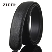 купить ZLRPH New Designer Men's Belts Fashion Genuine Leather Cowskin Belt for Men High Quality Automatic Buckle Male Waist Strap 3.5cm по цене 1123.7 рублей