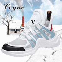 Ceyue 2019 Women Running Shoes Sport Jogging Sneakers L&V Style Sport Shoes Ladies breathable zapatillas deporte mujer sneakers