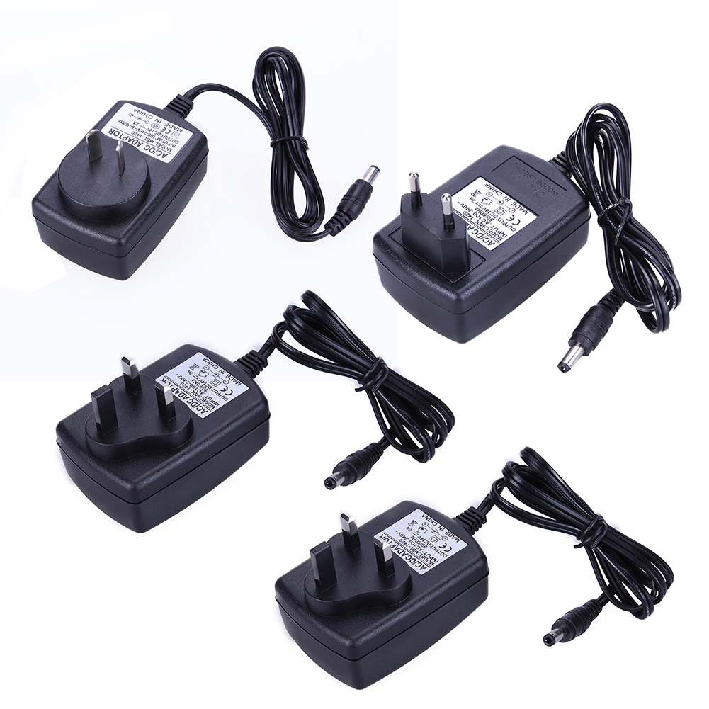 High Quality  DC 14V 2A Power Supply Adapter AC To DC Converter 5.5*2.5 Mm AU UK EU AU Plug Charger Supply Connectors