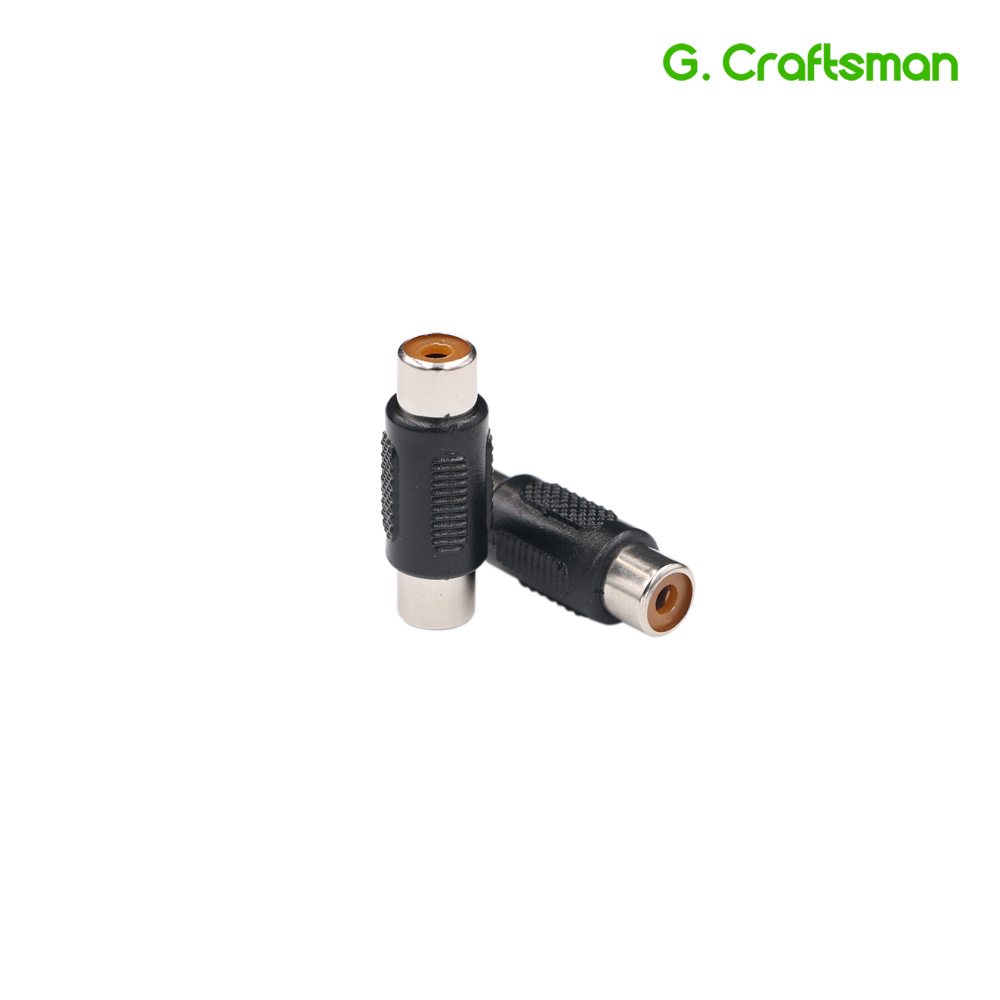 RCA Female To Female RCA Coupler Connector Adapter CCTV Products Accessories Camera System B27 G.Craftsman
