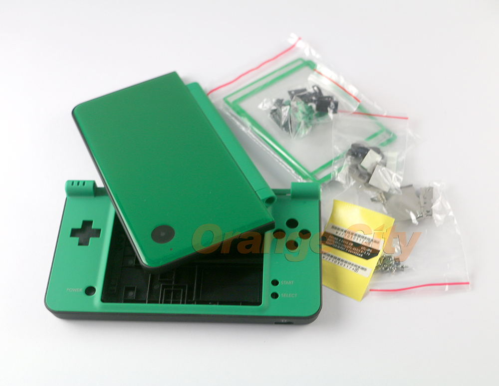 lowest price 6 Color replacement parts Complete Full Housing Cover Shell Case for Nintend NDSi XL LL Console Shell with Button kits