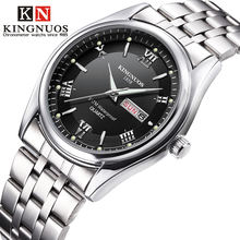 KINGNUOS Stainless Steel Date Week Business
