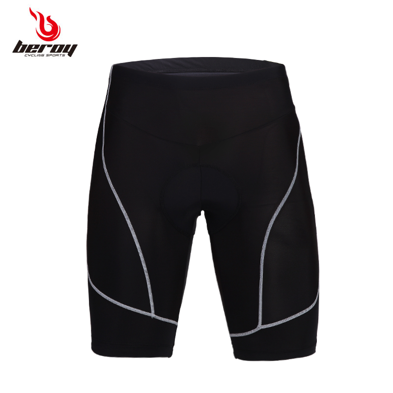 Brand New 2016 Men Cycling Shorts black man 3D Padded Coolmax Gel Black Underpant Bicycle breathable Bike Underwear Size S-3XL