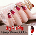Fashion Temperature Change Color nail gel polish UV Gel Nail Polish Long Lasting Soak Off Gel Nail Varnish