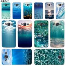 Sheli waves ocean water light Hard Phone Case for Samsung Galaxy J1 J2 J3 J4 J5 J6 J7 J8 2015 2016 2017 2018 J7 Prime J2 Ace(China)