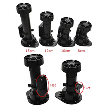 20Pcs PP Plastic Kitchen Bath Cabinet leg feet adjustable leveler Plinth Toe kick