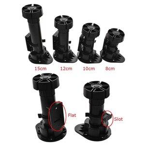 Image 1 - Patas de armario de baño de cocina, de plástico PP, nivelador ajustable, punta de pie, 20 uds.