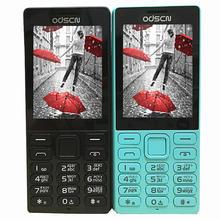 "2.4 ""Dual SIM FM วิทยุบลูทูธลำโพงโทรศัพท์มือถือราคาถูกจีน GSM โทรศัพท์มือถือรัสเซียคีย์บอร์ด ODSCN 216"