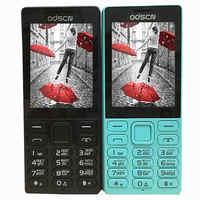 2,4 Dual Sim FM radio bluetooth altavoz teléfono móvil barato china gsm teléfonos celulares ruso teclado botón ODSCN 216
