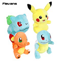 Monster Go Pikachu Bulbasaur Squirtle Charmander Plush Toys Soft Stuffed Animal Dolls