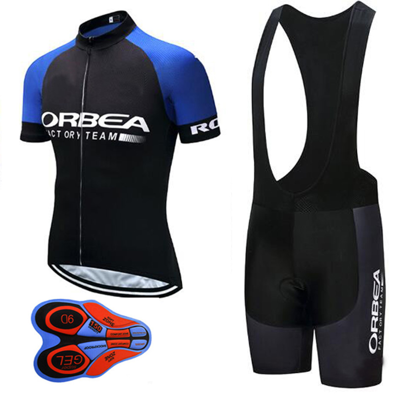 Cycling Jersey 2017 Summer ORBEA Pro Team cycle Bike Clothing Bib Shorts Set Men MTB Ropa Ciclismo hombre Bicycle Clothes I28
