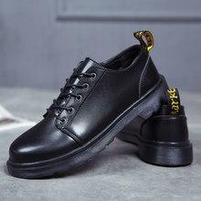fb2e4b83e9 Casal de Dr. martins mulheres Clássicos sapatos de trabalho Botas de  Inverno Homens sapatos de dança de Outono Ferramental sapat.