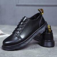 Couple Dr.martins women shoes Classic work Boots Men Winter dance shoes Autumn Tooling shoes doc.martens Oxfords Shoes Unisex