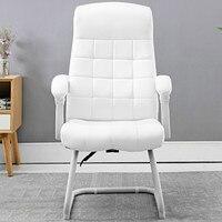 Cadeira do agregado familiar confortável reclinável escritório computador cadeiras estudo moderno e minimalista arco pé cadeira silla gamer silla oficina