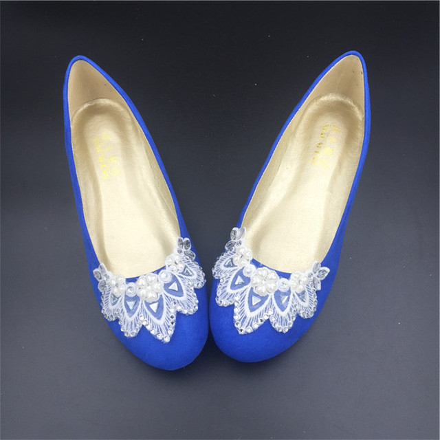 641e755054f Royal Blue Dance Wedding Party Shoes