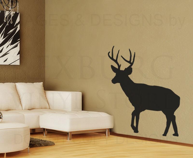 ciervos grande tatuajes de pared de vinilo pegatinas arte decoracin decoracin mural grficochina